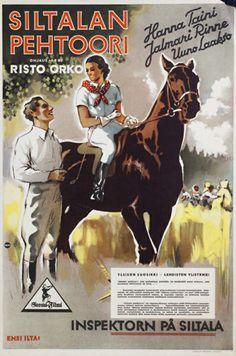 Siltalan pehtoori (1934). Poster Ads, Movie Posters, Finland Travel, Old Movies, Movie Tv, Nostalgia, Classic, Garden Paths, Vintage