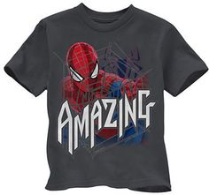 Spiderman Boys Short Sleeve Tshirt -- on shopstyle.ca