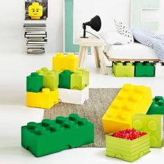 LEGO Storage Box My Life in LEGO Bricks Pinterest Lego