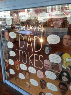 Who doesn't love a good (bad) Dad joke.