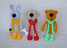 Crochet toy Interior toy Crochet  Bunny Amigurumi Bunny