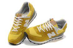 New Balance 574 Olympic Five Rings Damen Running Schuhe Gelb