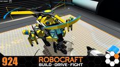 Robocraft - 'BumbleBee' Build
