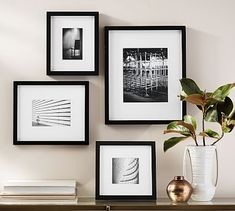 Pottery Barn's picture frames bring stylish solutions to any space. Find picture frames in wood, silver and brass finishes and create a personalized gallery wall. A Frame Cabin, A Frame House, Luxury Homes Interior, Home Interior Design, Gallery Frames, Gallery Wall, Rustic Design, Home Improvement Projects, Picture Frames