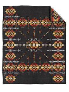 Pueblo Dwelling Heritage Blanket My next Pendleton? I love this blanket. Pendleton Woolen Mills, Pendleton Blankets, Southwest Quilts, Southwestern Home Decor, Queen Size Blanket, Indian Blankets, Vintage Blanket, Camping Blanket, Cabin Decorating