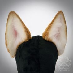 Tan WOLF Ears Halloween Cosplay Big Brown wolf