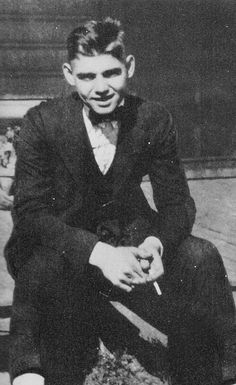 At sixteen, Clark Gable was already a high school dropout and chain-smoker.
