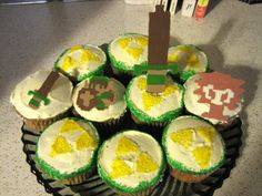 Cupcakes for Zelda themed pary