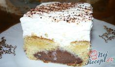 Jeden z nejjednodušších zákusků, jaké existují. Pudink můžete zaměňovat za různé příchutě, já osobně jsem už dělala s vanilkovým, kakaovým, čokoládovým, pistáciovým a malinovým. Nejlepší je však s čokoládovým, alespoň u nás doma nejrychleji zmizel tento. Bez těžkého máslového krému, lehoučký a sladký. Pokud máte rádi tento druh sladkého dezertu, určitě vyzkoušejte. Vůbec nejí náročný na čas, takže ho máte hotový i do půl hodinky. Autor: Marta M.