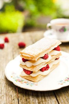 Mille-feuille - a Fox in the Kitchen | Food photography & Food styling | Ireland
