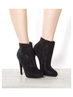 @Jacob McPherson McPherson Renquist Pillai Look Who doesn't need Black Glitter Heeled Ankle Boots?