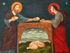 Catholic Art, Religious Art, Art Icon, Russian Art, Sacred Art, Bible Art, New Testament, Christian Art, Artsy