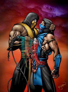 Mortal Kombat | Scorpion & Sub-Zero