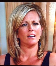 Laura Wright on General Hospital.