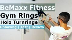 Gym Rings Holz Turnringe von BeMaxx Fitness im Test & Review