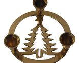 Brass Christmas Tree Candle Holder Made in India~table~round~three~  https://www.bonanza.com/listings/Brass-Christmas-Tree-Candle-Holder-Made-in-India-table-round-three-/228523143 #vintage