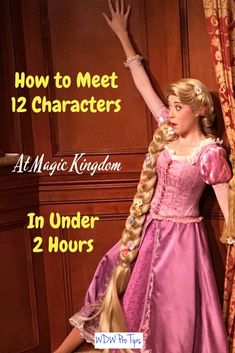 There are many character meet and greet opportunities at Magic Kingdom. Today, I'm going to show you how to meet a dozen of them in under two hours! #DisneyCharacters #CharacterGreetings #MeetDisneyCharacters #MagicKingdomCharacters #DisneyWorldTips