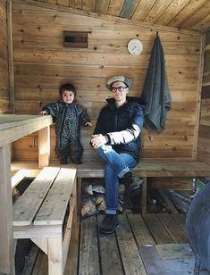What I Learned from Building an Outdoor Sauna with a Wood Burning Stove Sauna Room, Sauna House, Mobile Sauna, Building A Sauna, Diy Sauna, Sauna Ideas, Fire Rocks, Sauna Heater, Outdoor Sauna Kits