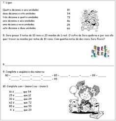 ATIVIDADES PARA APOIO PEDAGÓGICO: 2010 Education, Veronica, Words, Tea, Science Activities, Reading Activities, Geography Test, Fun Math Activities, Teas