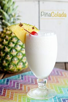 If you like Piña Coladas, getting caught in the rain... then you will love this perfect Piña Colada cocktail recipe and photos from a Regal Princess cruise.