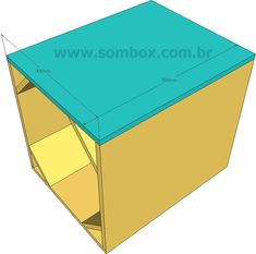 12 Subwoofer Box, Subwoofer Box Design, Speaker Plans, Speaker Design, How To Plan, Horn, 3d, Box Design, Loudspeaker