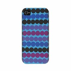 Purple and blue, we love you!  Also available for the iPhone 4. Marimekko Räsymatto Blue/Purple iPhone 5 Case - $48