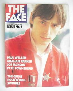 The Face magazine - Paul Weller   well obviously...