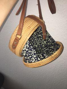 00fab2807 Porcelain Detail Handmade Rattan Bag – LoomRack Design Crafts, Rattan,  Clutch Bag, Straw