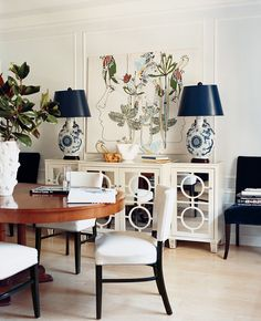 A Chinoiserie Dining Room