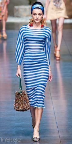 İlkbahar Modası: Çizgiler- Dolce Gabbana