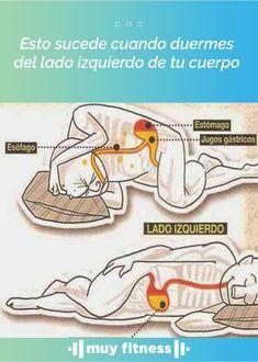 La posición en la que duermes es un factor importantísimo a la hora de lograr un óptimo descanso para la recuperación de energías. #salud #sueño #dormir #muyfitness