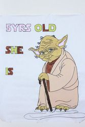 Jessica's 5th Birthday  Birthday - Yoda Star Wars