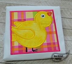 Easter Cheep Box Applique - 4 Sizes! | What's New | Machine Embroidery Designs | SWAKembroidery.com Beau Mitchell Boutique