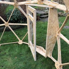 Geodesic Dome V2 3/4 with door - fruit cage, arbour, garden room, chicken run | eBay