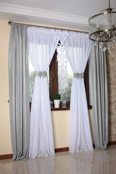 Curtains Ready Curtains Screens Curtains- Firany Gotowe Zasłony Ekrany Firanki Buy now on allegro.pl for PLN – Curtains Ready Curtains Curtains Screens Allegro.pl – Shopping joy and security thanks to the Buyer Protection Program! Green Kitchen Curtains, Living Room Decor Curtains, Living Room Decor Colors, Shabby Chic Curtains, Curtains And Draperies, Home Curtains, Rideaux Design, Canopy Bedroom, Beautiful Curtains