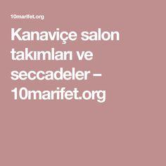 Kanaviçe salon takımları ve seccadeler – 10marifet.org