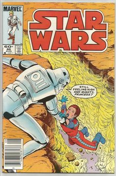 STAR WARS #86 Marvel Comics 1984 McLeod / Tom Palmer -- OLDEST SERIES 1st Print