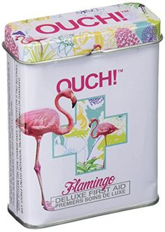 Ouch! Flamingos - First Aid In A Tin - Plasters / Band Ai... https://smile.amazon.com/dp/B00OIVWLKO/ref=cm_sw_r_pi_dp_x_O67zybE8SVSKE