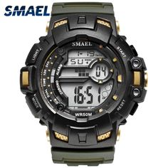 Hot Sale Swim Sports Watch 50m Waterproof Male Watches Japan Quartz Clock Electronic Display Outdoor Product Fashion Color Men Skmei 1016 Bright Luster Children's Watches