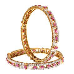 Prince Jewellery Diamond Bangle - Product Code : 3-117692