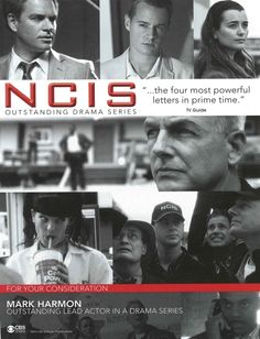 NCIS - best show ever! I love this for its humanity and the interaction between the team. Thank you CBS for this great show.