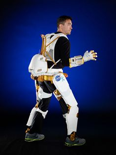 NASA is redesigning their robotic platform as an exoskeleton for humans. Stronger in space, I guess we're getting ready for aliens.