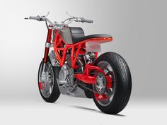 Ducati 'Hyper Scrambler' custom motorcycle designed and built by Hugo Eccles of Untitled Motorcycles San Francisco. Photo by RC Rivera