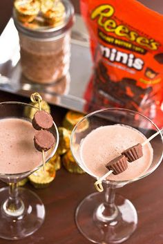 dessert cocktail, Reese peanut butter cup martini :-)
