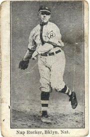 1915 W-UNC Strip Cards #19 Nap Rucker Front