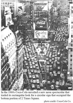 1960's- Times Square, NYC