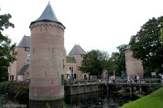 """""""Het Slot van Schagen"""" - Schagen Castle in the province of North Holland. Completely restored in Kingdom Of The Netherlands, Temple Ruins, Medieval Town, Fortification, Forts, Modern Buildings, Palaces, Amsterdam, Cathedral"""