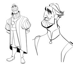 Character Designs da série Tangled, por Bobby Pontillas | THECAB - The Concept Art Blog