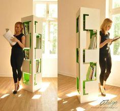 the book shelf on Behance Bookshelves, Shelf, Behance, Room, Furniture, Creative, Home Decor, Bedroom, Bookcases