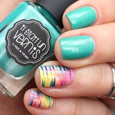 Il était un vernis welcome to paradise peace, love and chill tropical waterfall nail art Love Nails, How To Do Nails, Chill, Water Marble Nails, Swag Nails, Summer Nails, Finger, Nail Designs, Nail Polish